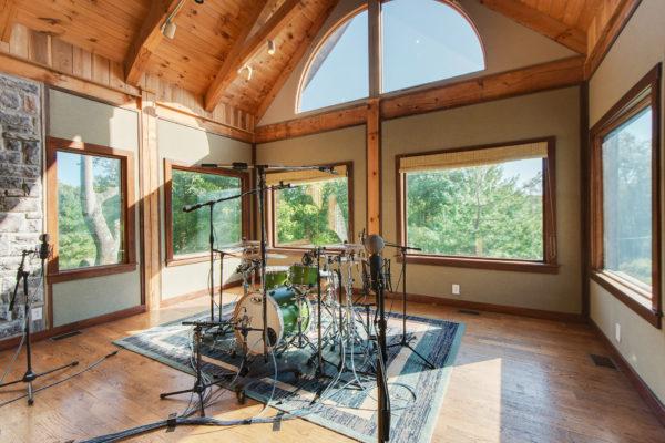 Dark Horse Recording studio drums